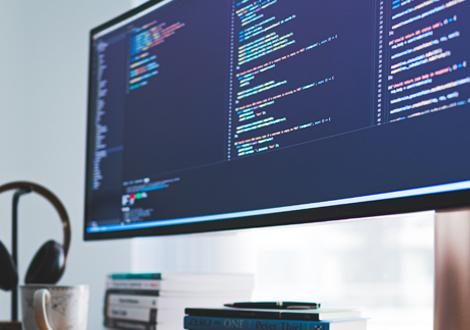 Computer screen - Machine Learning - Technology Talk
